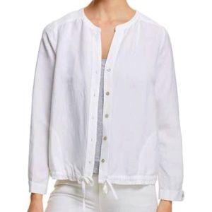 NWOT, Cropped White Jacket